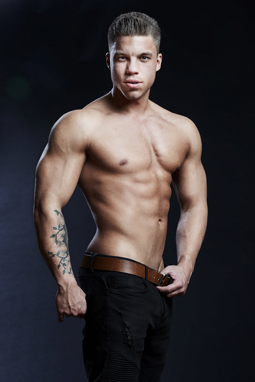 Stripper Yven aus Berlin