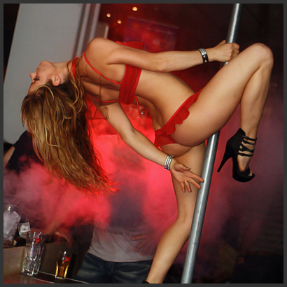 Stripperin Marnie aus Berlin